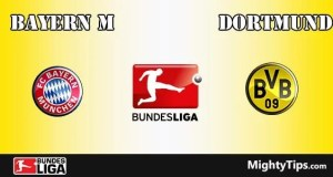 Bayern vs Dortmund Prediction and Betting Tips