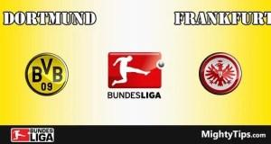 Dortmund vs Frankfurt Prediction and Betting Tips
