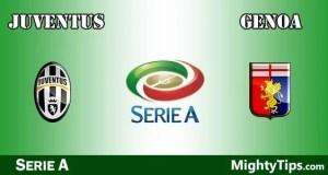Juventus vs Genoa Prediction and Betting Tips