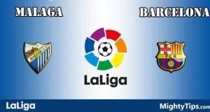 Malaga vs Barcelona Prediction and Betting Tips