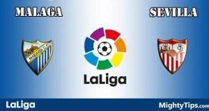 Malaga vs Sevilla Prediction and Betting Tips