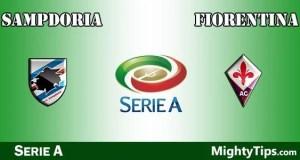 Sampdoria vs Fiorentina Prediction and Betting Tips