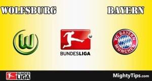 Wolfsburg vs Bayern Prediction and Betting Tips