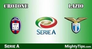 Crotone vs Lazio Prediction and Betting Tips