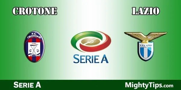 Crotone vs Lazio Prediction and Betting Tips