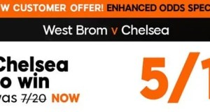 West Brom vs Chelsea Prediction and Bet