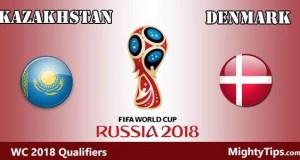 Kazakhstan vs Denmark Prediction and Betting Tips