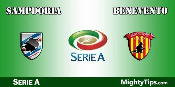 Sampdoria vs Benevento Prediction, Preview and Bet