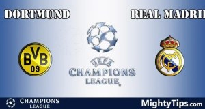 Dortmund vs Real Madrid Prediction, Preview and Bet