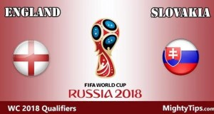 England vs Slovakia Prediction, Preview and Bet