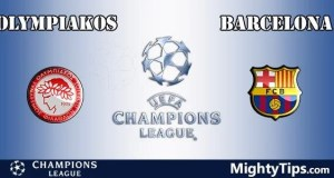 Olympiakos vs Barcelona Prediction, Preview and Bet