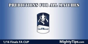 FA Cup Predictions and Preview 1/16 Finals