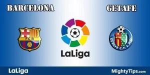 Barcelona vs Getafe Predictions and Betting Tips
