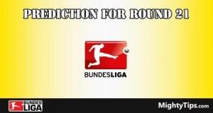 Bundesliga Predictions Round 21
