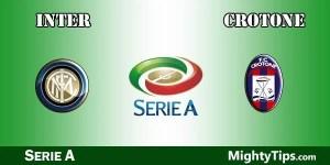 Inter vs Crotone Predictions and Preview