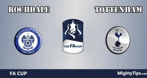 Rochdale vs Tottenham Prediction and Betting Tips