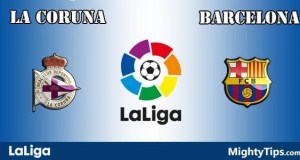 La Coruna vs Barcelona Prediction and Betting Tips