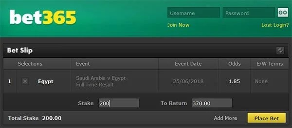 Egypt to win