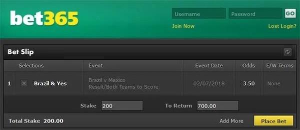 Brazil vs Mexico Prediction and Bet