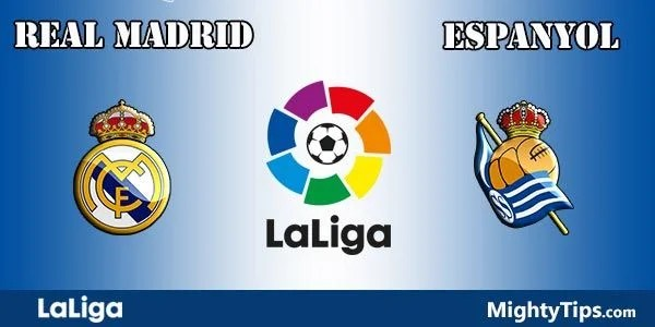 Real Madrid vs Espanyol Prediction, Preview and Betting Tips
