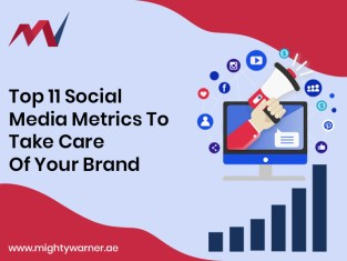 Top 11 Social Media Metrics to take care of your brand_