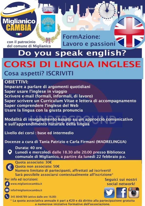 Corso d'inglese