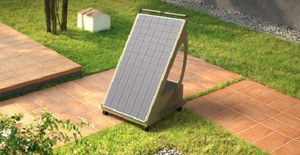 Pyppy, pannello fotovoltaico da balcone