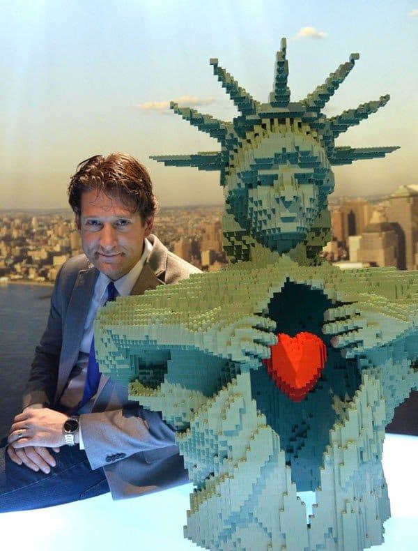 mostra nathan swaya new york sculture lego
