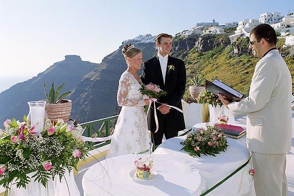 Grecia, meta preferita dagli sposi