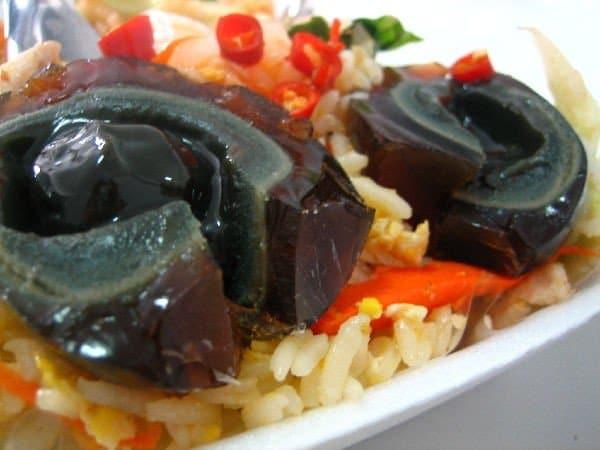 Cibi strani e originali (piatto asiatico)