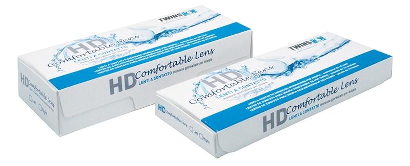 Lenti a contatto giornaliere HD Comfortable