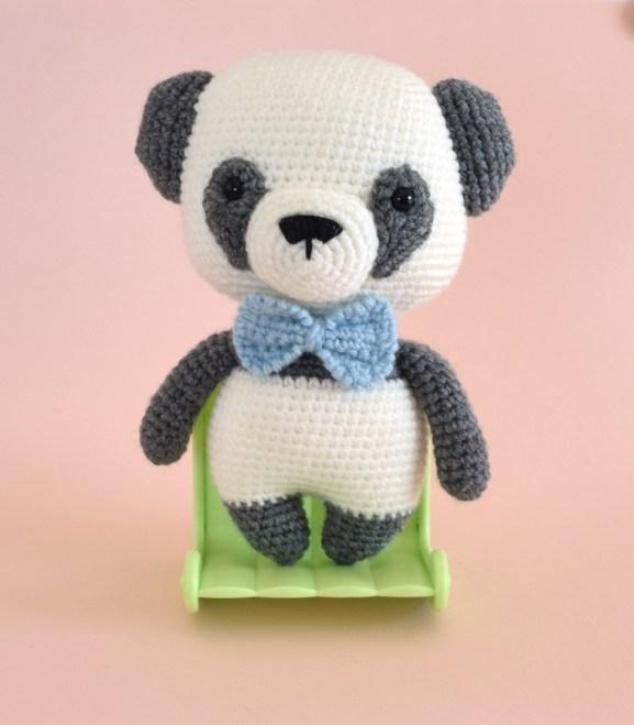 Panda crochet amigurumi so cute Rnata Panda Po 18