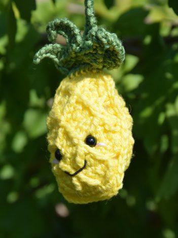 porte-clé ananas pineapple keychain 2