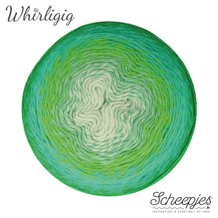 Whirligig 207 Green to Blue