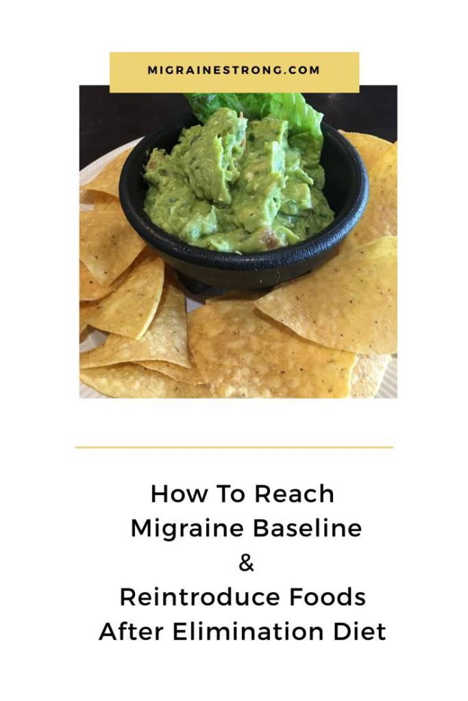 Reaching Baseline: What is a migraine elimination diet, how does it work and how are potential trigger foods reintroduced once baseline is reached? #migraine #elimination diet #migraineprevention