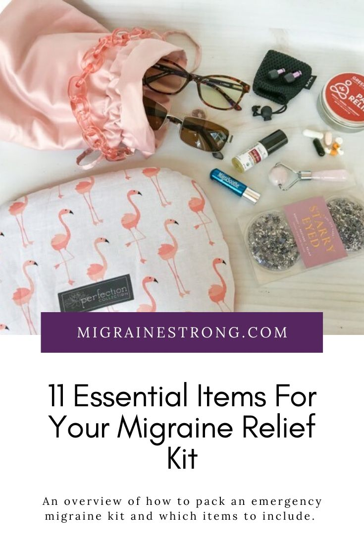 11 Essential Items to Keep in Your Migraine Relief Kit