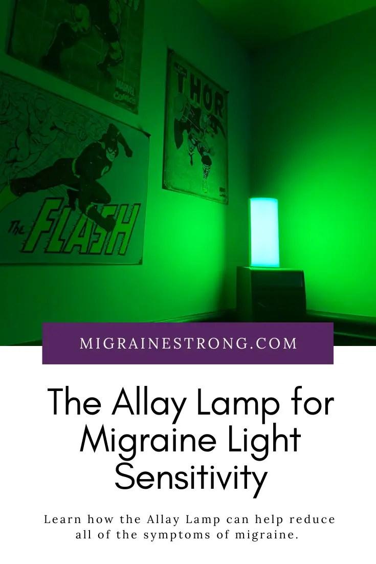 The Allay Lamp for Migraine Light Sensitivity