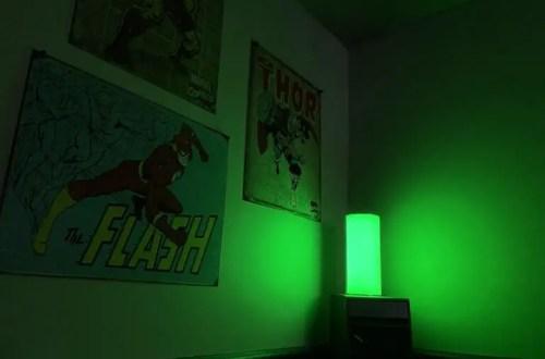 allay lamp green light manages migraine light sensitivity
