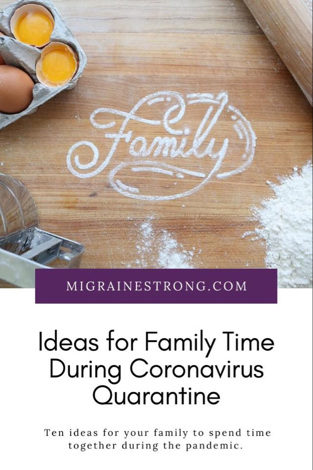 Ideas for Family Time During Coronavirus Quarantine