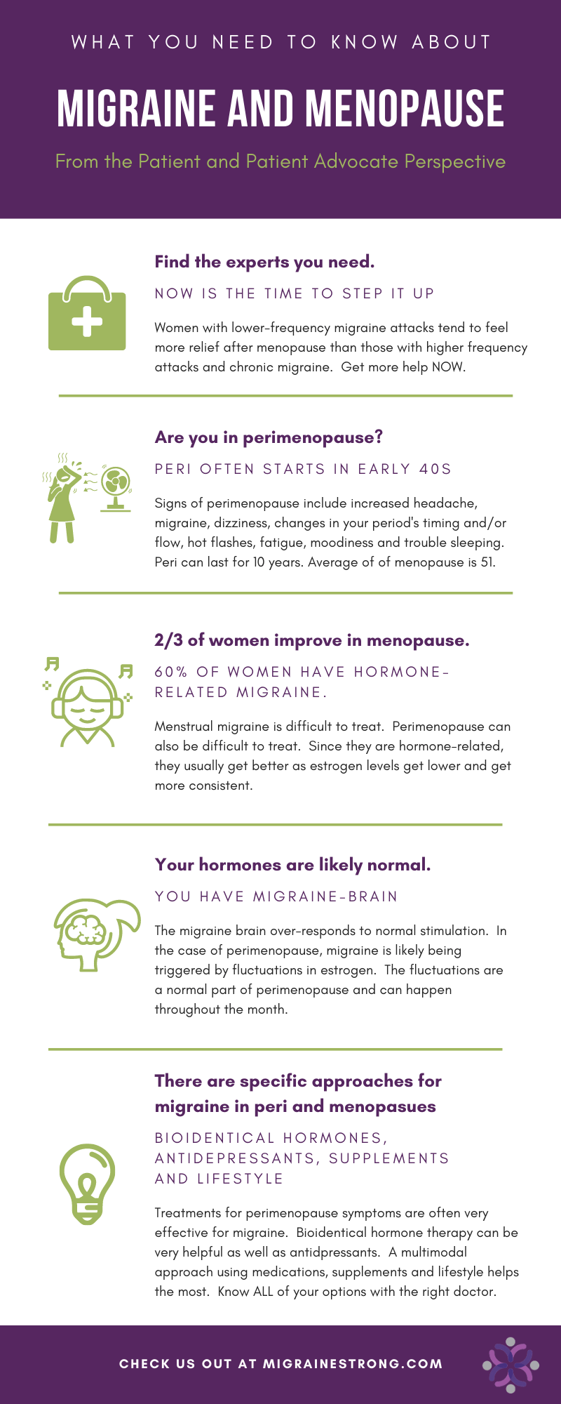 What No One Tells You about Migraines and Menopause (and Perimenopause Too)