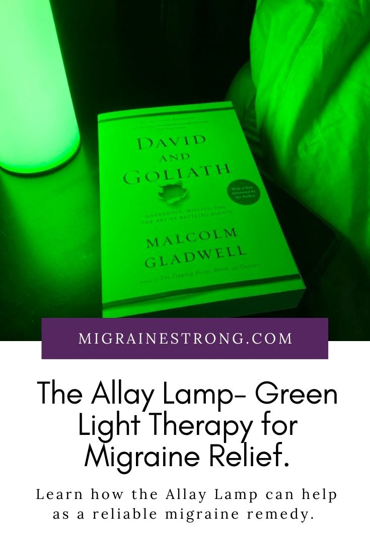 Allay Lamp - The Green Light For Migraine - Six Month Update
