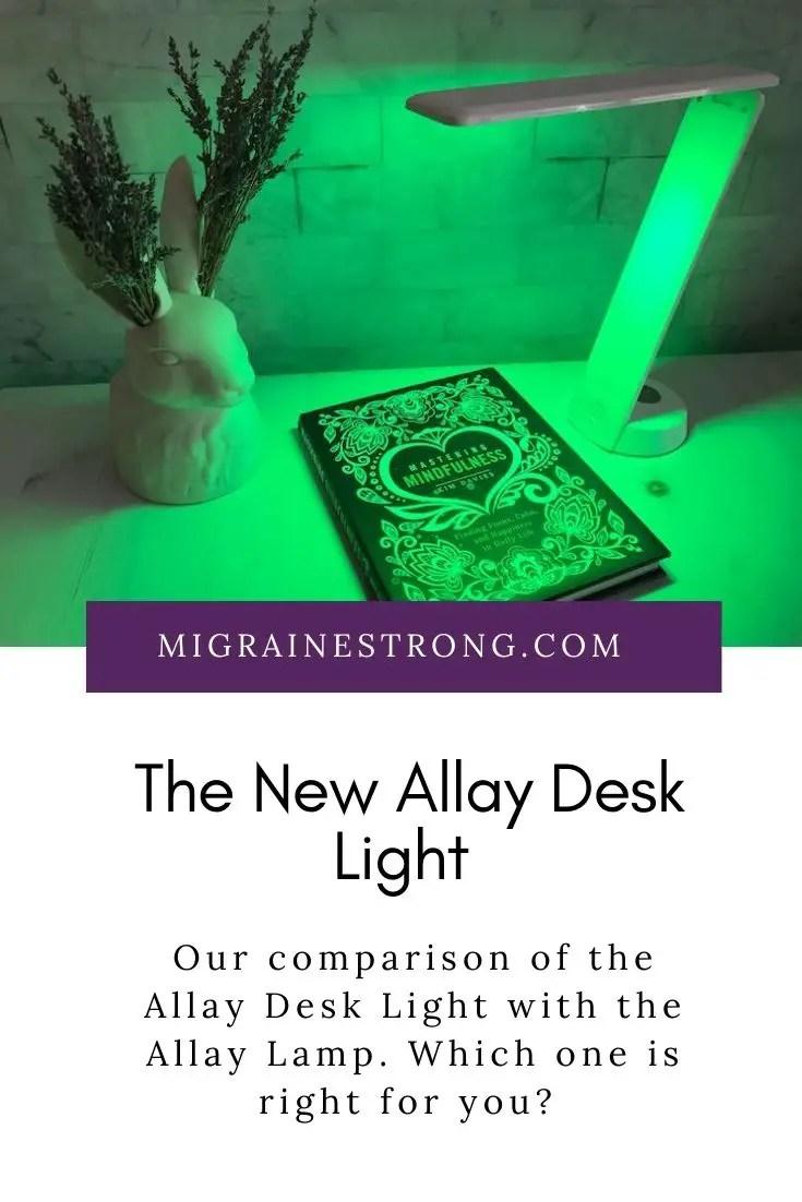The Allay Desk Light compared to the Allay Lamp