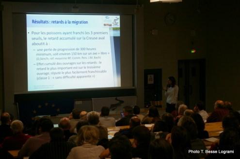 Session 2 : Les impacts des ouvrages sur la migration, présentation (...)