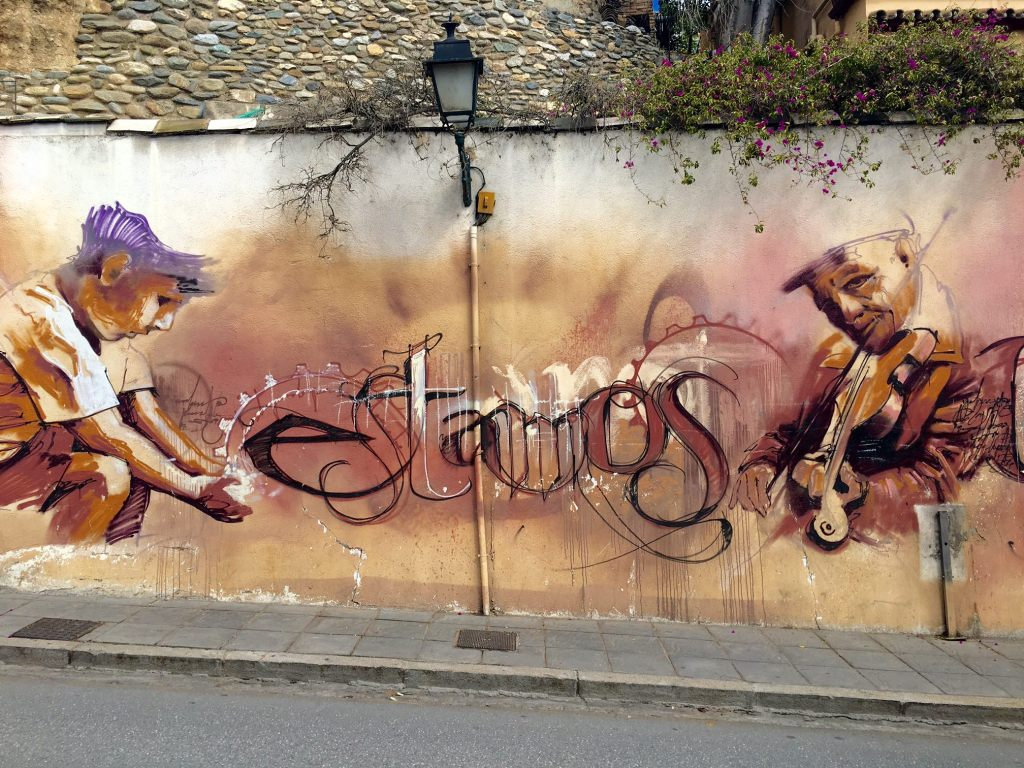 Graffiti and Street Art in Granada, Spain
