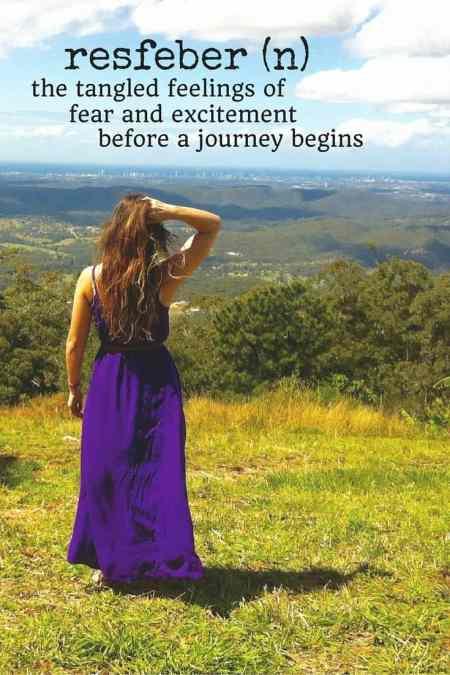 resfeber travel words