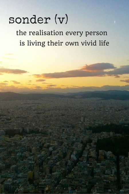 sonder travel words