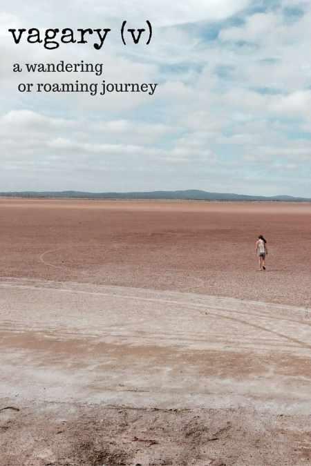 vagary travel words