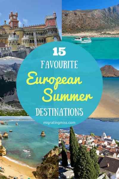 Best European Summer Destinations
