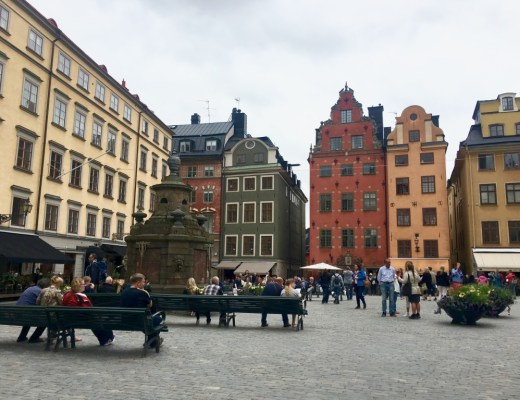 Old Town Square Stockholm