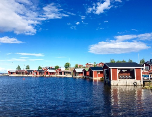 Lulea Sweden in summer